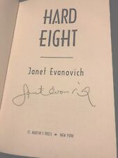 Stephanie Plum: Hard Eight 8 signed Janet Evanovich 2002 Hardcover