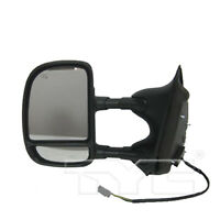 Door Mirror for 00-05 Ford Excursion w/Trailer Tow Power Heated Driver Side