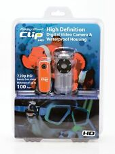 Easy Shot Clip HD 720P Waterproof Mini Camcorder, 4GB Micro card included