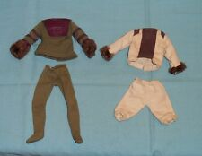 vintage Mego pota PLANET OF THE APES CORNELIUS & DR. ZAIUS CLOTHES LOT