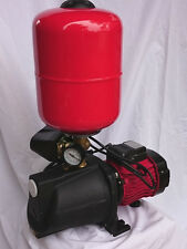 1.0hp HI-FLOW JET Pump 36m Hmax 85l/min Complete with Tank + Switch