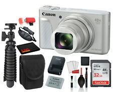 Canon PowerShot SX730 HS Digital Camera (Silver) (1792C001) with Accessory