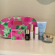 Estee Lauder Lily Pulitzer 7pc Travel Gift Set