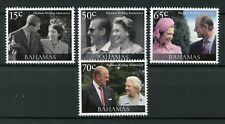 Bahamas 2017 MNH Queen Elizabeth II Platinum Wedding 4v Set Royalty Stamps