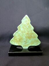 "Lost wax cast Bronze  Holiday Christmas Tree, 3 1/2"" Pine Decorative Sculpture"