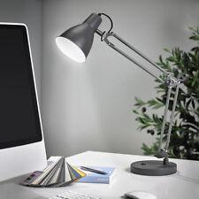 LED Schreibtischlampe Leuchte Bürolampe Leselampe Nachttisch anthrazit T77-1