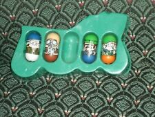 '03 Moose's Mighty Beanz - Series 2 - SPECIAL AGENT TEAM - 4 Beanz & 4 cards