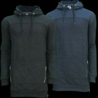 DERWENT Mens Longline Hooded Sweat Shirt