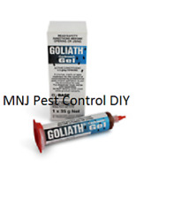Goliath Cockroach Gel 35g Stronger then Maxforce Gold +  3 sticky traps bait