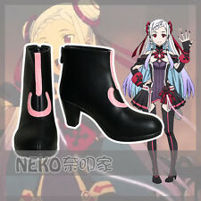 Nekocos SAO Sword Art Online Ordinal Scale YUNA Cosplay Shoes Customized