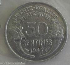 50 centimes morlon alu 1947 : TTB : pièce de monnaie française