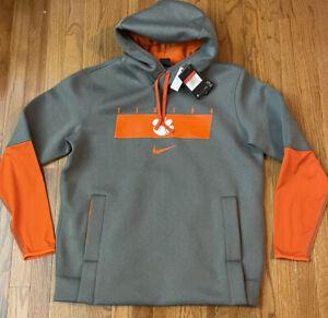 Men's Clemson Tigers Nike Sideline Playbook Performance Hoodie Large NWT $125