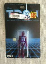 "Rare Tron 4"" Purple Action Figure 20th Anniversary Edition By Disney Neca New"