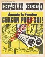 Charlie Hebdo n°159 du 03/12/1973 Fusil Gébé Cabu à Foix (2p) Ariège