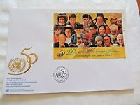 "1995 10/24 In Commemoration Of 50th Anniversary ""United Nations"" First Day Issue"