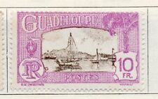 Guadeloupe 1928 Early Issue Fine Mint Hinged 10fr. 109617
