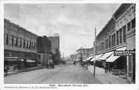 Postcard Main Street in Trinidad, Colorado~109686