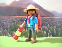 PLAYMOBIL LOT 94 BOY SCOUT SCOUTISME JAMBOREE AVENTURE NATURE CAMP BADEN POWELL