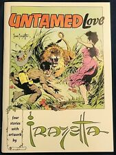 Untamed Love  Frank Frazetta    High Grade  NM  Russ Cochran 1973