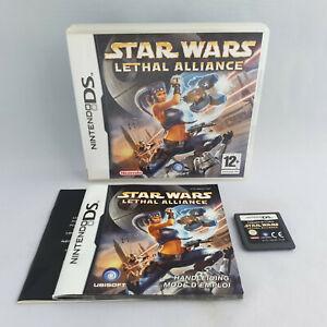 Nintendo DS NDS - Star Wars Lethal Alliance