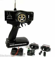 T27AM2S Remote Control RC Transmitter 2 Channel Receiver 27mhz AM + 2 Servos