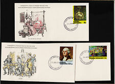 1981 Grenada Grenadines International Council of Museums FDC Sc#421,423,426 Sign