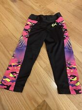 Gk gymnastic Capris Child Small Used One Or Two Times. Great Condition!