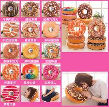 12 Styles Doughnut Donut Shaped Ring Plush Soft Novelty Style Cushion Pillow