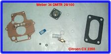 Weber 34 DMTR Carburateur rep. Kit, CITROEN CX 2200,2400,tre