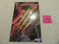 Marvel NYCC 2018 Variant Cover Glow GID Return of Wolverine #1 1037/2000 A