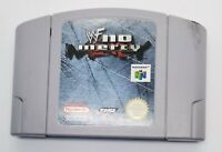 WWF No Mercy Video Game for Nintendo N64 PAL TESTED