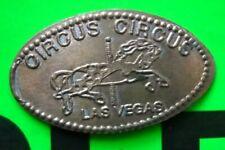 Circus Circus elongated penny Las Vegas Nv Usa cent Carousel Horse souvenir coin