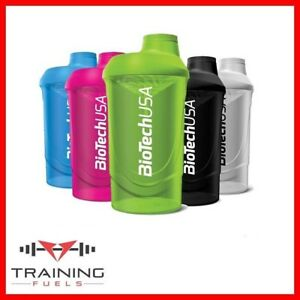 Biotech USA Wave Shaker 600ml Protein Shaker Gym Accessory