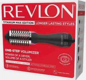 REVLON One-Step Hair Dryer and Volumizer Titanium Max Edition FREE SHIPPING