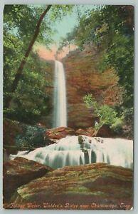 Chattanooga Tennessee~Falling Water Walden's Ridge~Vintage Postcard