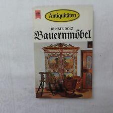 Bauernmöbel (Antiquitäten)  von 1972