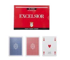 Dal Negro Carte da Gioco Ramino Poker Scala 40 Excelsior 2 Mazzi