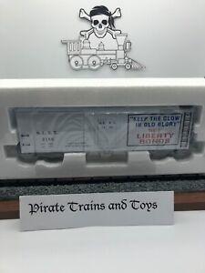 ✅K-LINE BUY LIBERTY BONDS WOOD-SIDED BILLBOARD BOXCAR #2186 K762-8026