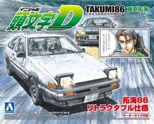 Toyota AE86 Trueno Fujiwara Takumi Initial D 1:32 Model Kit Aoshima 009000
