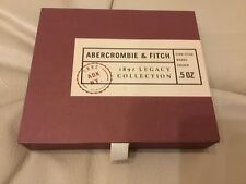 ABERCROMBIE FITCH COLOGNE 1892 LEGACY COLLECTION EZRA WOODS COLDEN Gift SET RARE