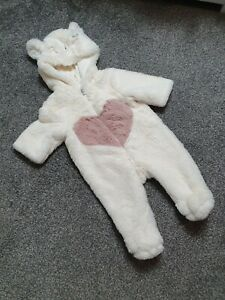 Baby Girl Snowsuit Newborn Up To 1 Month Worn Once 🎀