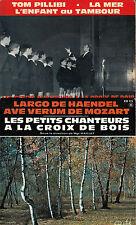 45TRS VINYL 7''/ LOT 4 EPS PETITS CHANTEURS A LA CROIX DE BOIS / CHOIR BOYS