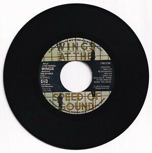 Philippines WINGS At The Speed Of Sound 45 rpm Record