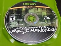 Need for Speed: Most Wanted (Microsoft Xbox, 2005) TESTED! DISC ONLY!