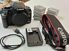 Canon EOS 500D / EOS Rebel T1i DSLR - Used - Good Condition + Accessories