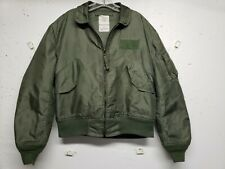 CWU-36/P Flight Jacket, Flyer's Summer Weather Green Nomex Aramid Men's Large