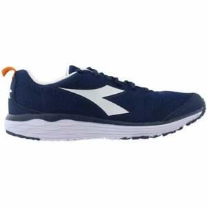 Diadora Flamingo  Mens Running Sneakers Shoes    - Blue - Size 10.5 D