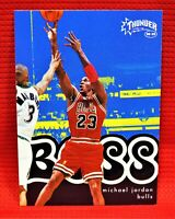 "1998-99 Skybox Thunder ""Boss"" Michael Jordan"