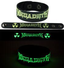 MEGADETH  NEW! Bracelet Wristband gg127 Glow in the Dark/Symphony Of Destruction