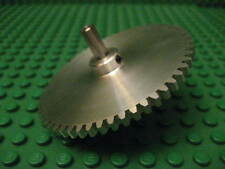 56 tooth aluminum gear.  Works with Lego Technic or aluminum construction kit